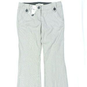 Ann Taylor Loft Pants 6P Pinstripe NWT Bootcut